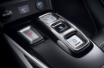 2020 Sonata interior image - push-button transmission