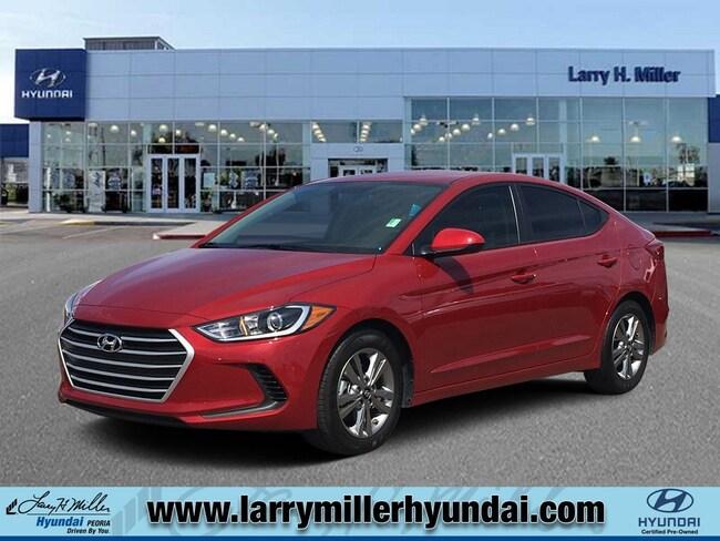Certified used Hyundai 2018 Hyundai Elantra SEL Sedan KMHD84LFXJU593342 for sale near you in Phoenix, AZ