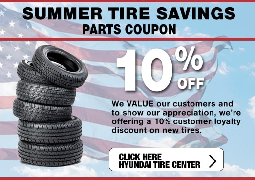 Tire Savings Event at Larry H. Miller Hyundai, Peoria, AZ