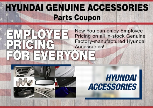 Peoria, AZ Hyundai Accessories Coupon
