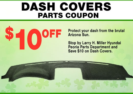 Hyundai Dash Covers Coupon, Peoria, AZ