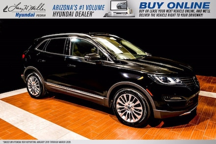 Featured Used 2018 Lincoln MKC Reserve SUV 5LMCJ3C96JUL32761 for sale near you in Peoria, AZ