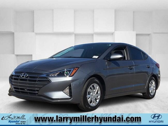 New Hyundai vehicle 2019 Hyundai Elantra SE Sedan KMHD74LF2KU874443 for sale near you in Phoenix, AZ