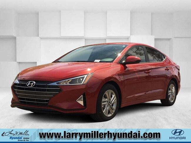 New Hyundai vehicle 2019 Hyundai Elantra SEL Sedan KMHD84LF4KU847015 for sale near you in Phoenix, AZ