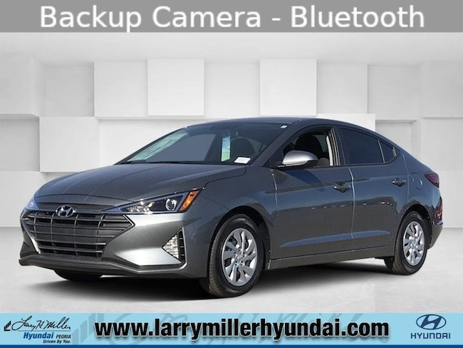 New Hyundai vehicle 2019 Hyundai Elantra SE Sedan KMHD74LF6KU783501 for sale near you in Phoenix, AZ