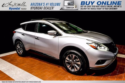 Featured Used 2016 Nissan Murano SV SUV 5N1AZ2MG1GN162032 for sale near you in Peoria, AZ