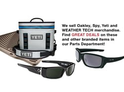 We Sell Oakley/Spy/Yeti/Weather Tech -Great Deals!