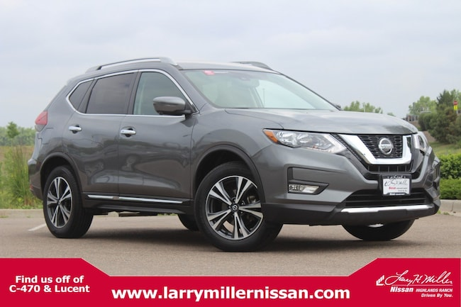 Certified Pre-Owned 2018 Nissan Rogue SL AWD SL 5N1AT2MV0JC729463 for sale in Highlands Ranch, CO