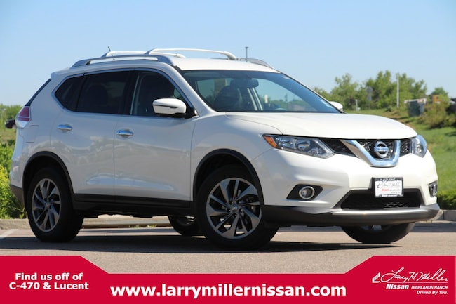 Used 2016 Nissan Rogue SL AWD  SL KNMAT2MV8GP728986 for sale in Highlands Ranch, CO