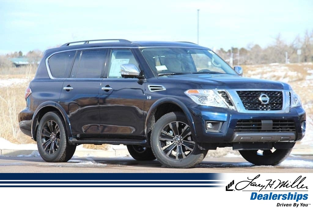 Featured New 2019 Nissan Armada Platinum 4x4 Platinum for sale near you in Highlands Ranch, CO