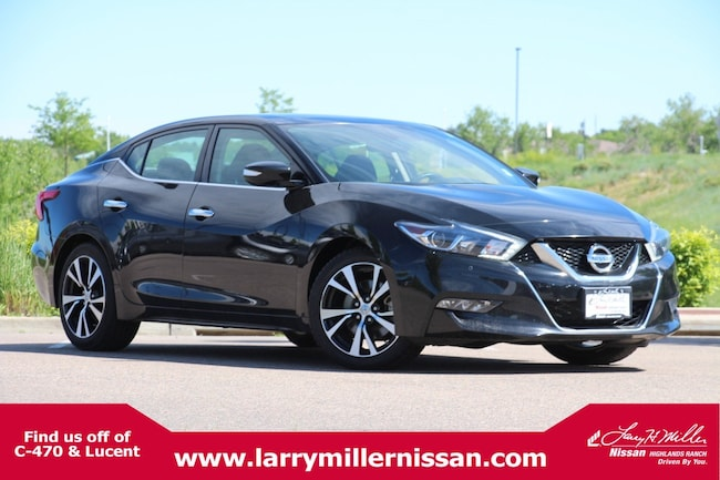 Certified Pre-Owned 2018 Nissan Maxima 3.5 SL SL 3.5L 1N4AA6AP0JC361959 for sale in Highlands Ranch, CO