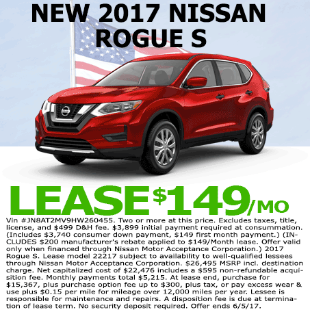 New Nissan Lease near Denver