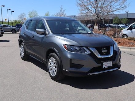 Featured Pre-Owned 2018 Nissan Rogue S SUV KNMAT2MV2JP583547 for sale near Denver, CO