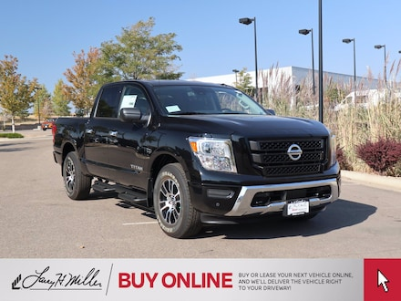 Featured 2021 Nissan Titan SV 4x4 Crew Cab SV for sale near you in Centennial, CO