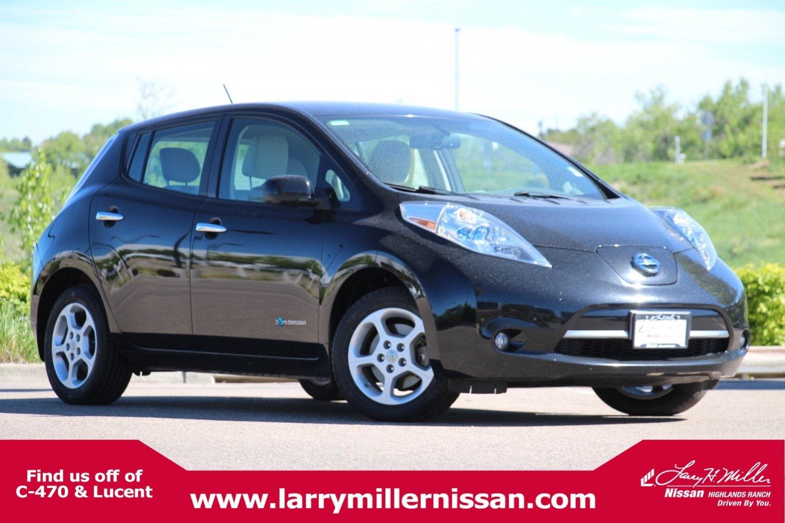 Featured Pre-Owned 2015 Nissan LEAF SV HB SV *Ltd Avail* 1N4AZ0CP6FC302778 for sale near Denver, CO