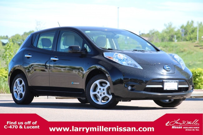 Used 2015 Nissan LEAF SV HB SV *Ltd Avail* 1N4AZ0CP6FC302778 for sale in Highlands Ranch, CO