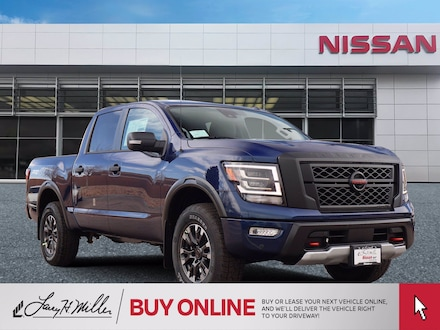 Featured New 2021 Nissan Titan PRO-4X Truck Crew Cab for sale near you in Highlands Ranch, CO