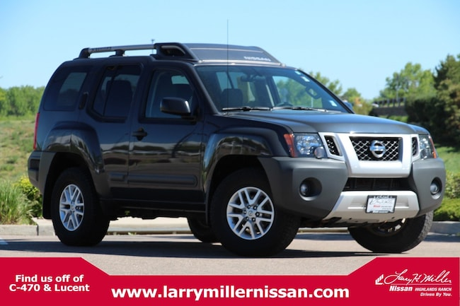 Certified Pre-Owned 2015 Nissan Xterra S 4WD  Auto S 5N1AN0NW7FN655153 for sale in Highlands Ranch, CO