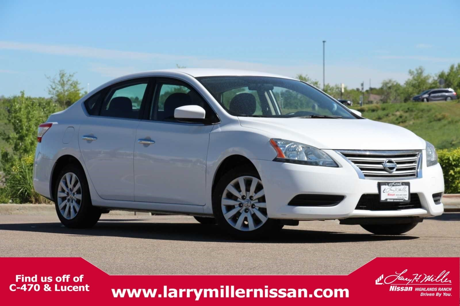 Featured Pre-Owned 2015 Nissan Sentra S Sedan 3N1AB7AP8FL655721 for sale near Denver, CO