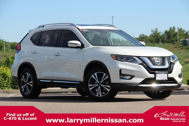 Used 2017 Nissan Rogue SL AWD SL 5N1AT2MV9HC788635 for sale in Highlands Ranch, CO