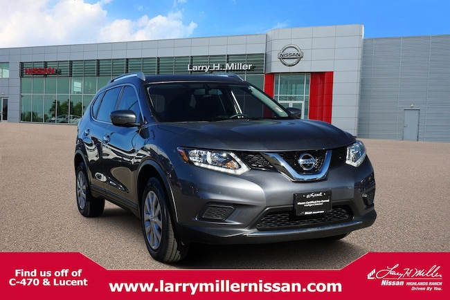 Certified Pre-Owned 2016 Nissan Rogue S SUV KNMAT2MV9GP693133 for sale in Highlands Ranch, CO