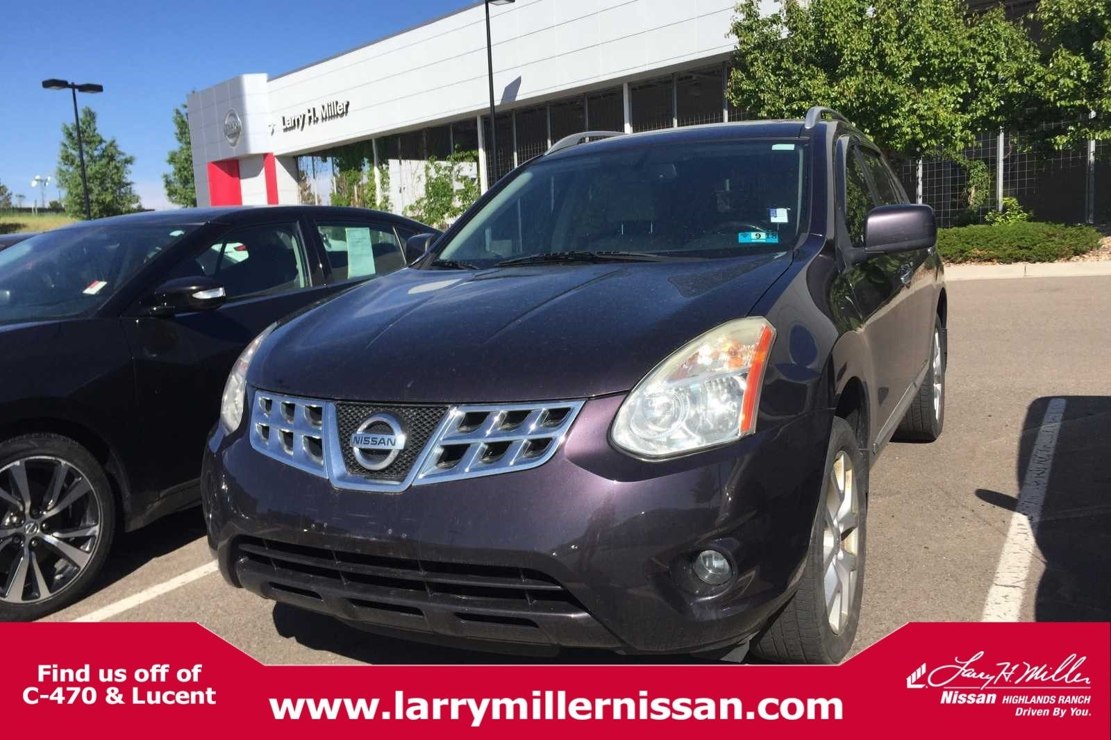 Featured Pre-Owned 2011 Nissan Rogue SV AWD  SV JN8AS5MV8BW275878 for sale near Denver, CO