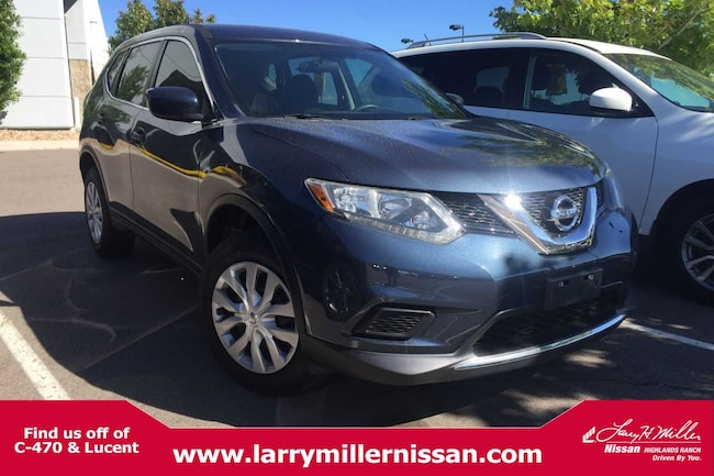 Used 2016 Nissan Rogue S AWD  S 5N1AT2MM8GC833876 for sale in Highlands Ranch, CO