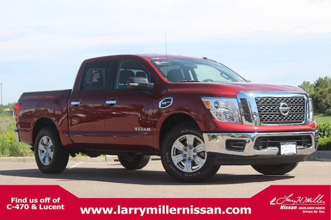 Used 2017 Nissan Titan SV 4x4 Crew Cab SV 1N6AA1EJ6HN542935 for sale in Highlands Ranch, CO