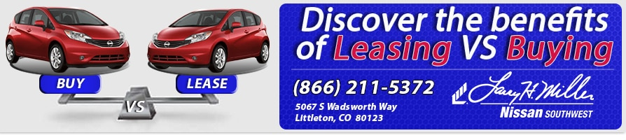 Leasing vs buying Nissan Littleton