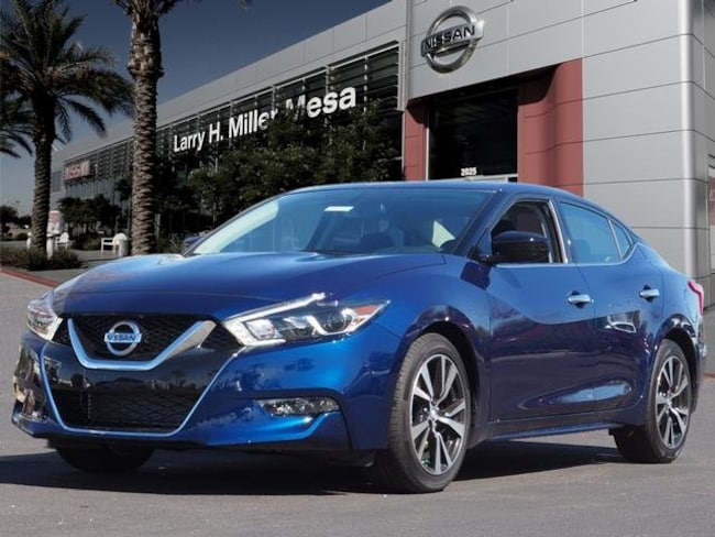 New Nissan vehicle 2018 Nissan Maxima 3.5 S Sedan 1N4AA6AP3JC405582 for sale near you in Mesa, AZ