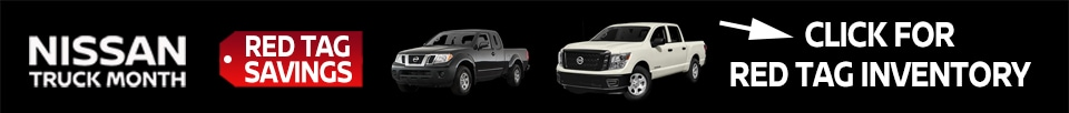 Nissan Truck Month Red Tag Savings on Select New 2019 Nissan Titan/XD and Frontier