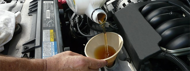 Oil Change in Mesa, AZ