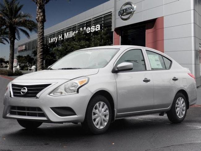 New Nissan vehicle 2019 Nissan Versa 1.6 S+ Sedan 3N1CN7AP7KL828204 for sale near you in Mesa, AZ