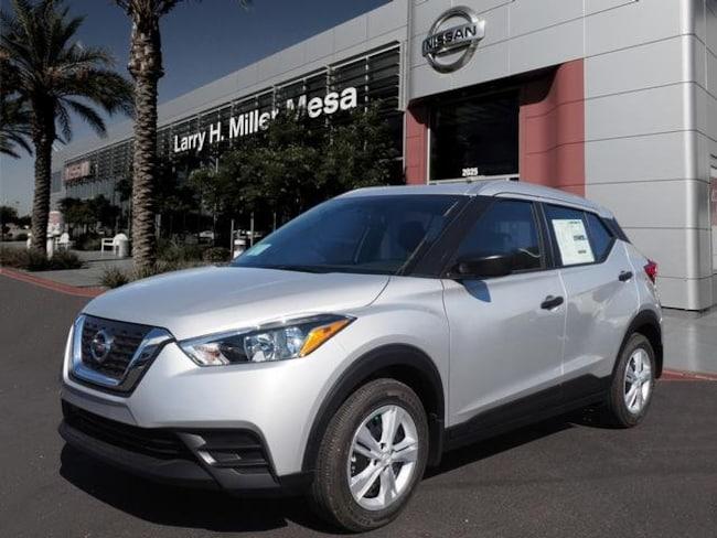 New Nissan vehicle 2019 Nissan Kicks S SUV 3N1CP5CU7KL496671 for sale near you in Mesa, AZ