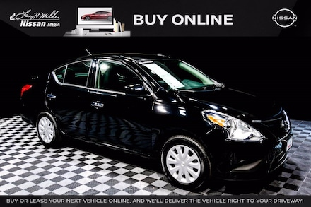 Featured Used 2019 Nissan Versa 1.6 SV Sedan for sale near you in Mesa AZ