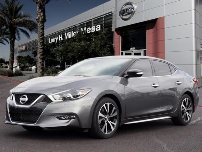 New Nissan vehicle 2018 Nissan Maxima 3.5 SV Sedan 1N4AA6AP9JC405182 for sale near you in Mesa, AZ