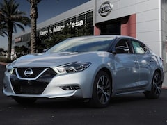 New 2018 Nissan Maxima 3.5 SV Sedan 1N4AA6APXJC406650 for sale near you in Mesa, AZ