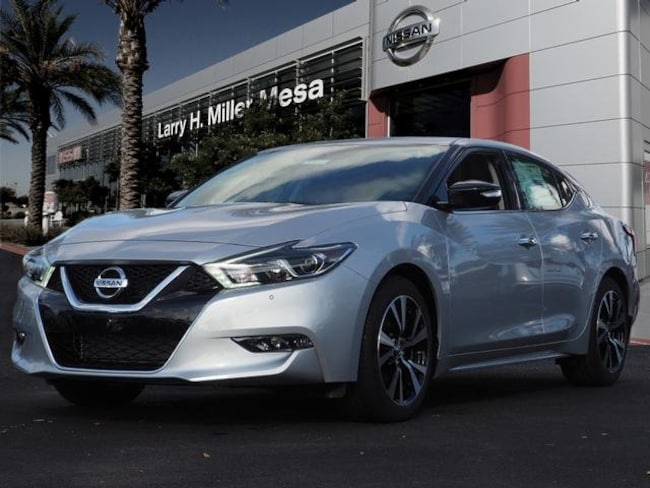 New Nissan vehicle 2018 Nissan Maxima 3.5 SV Sedan 1N4AA6APXJC406650 for sale near you in Mesa, AZ