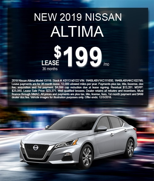 New Nissan Altima In Stock