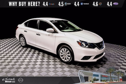 Featured Used 2019 Nissan Sentra S Sedan for sale near you in Mesa AZ