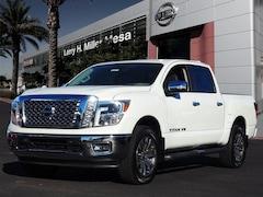 New Nissan vehicles 2018 Nissan Titan SL Truck Crew Cab 1N6AA1E54JN503298 for sale near you in Mesa, AZ