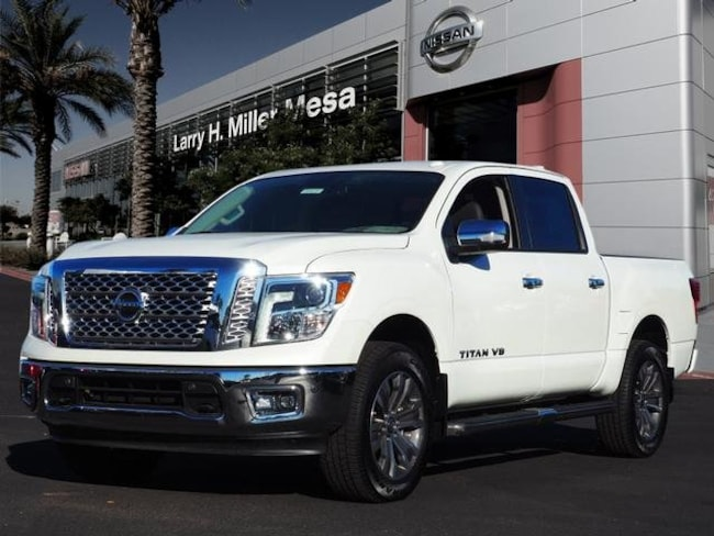 New Nissan vehicle 2018 Nissan Titan SL Truck Crew Cab 1N6AA1E54JN503298 for sale near you in Mesa, AZ
