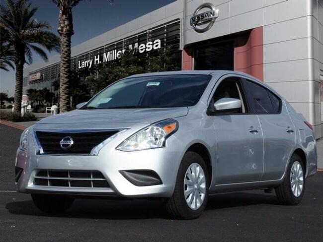 New Nissan vehicle 2019 Nissan Versa 1.6 SV Sedan 3N1CN7AP2KL825436 for sale near you in Mesa, AZ