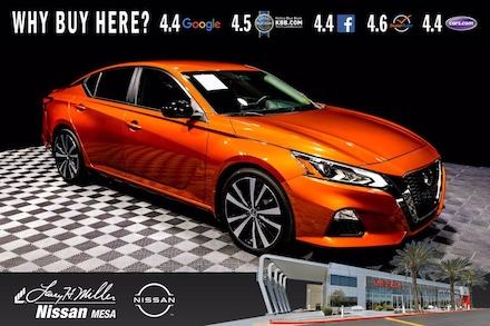 Featured Used 2020 Nissan Altima 2.5 SR Sedan for sale near you in Mesa AZ