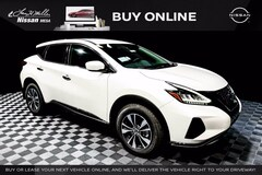 New 2021 Nissan Murano S SUV 5N1AZ2AJXMC112589 for sale near you in Mesa, AZ