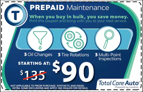 Total Care Auto Offer
