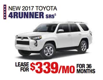 Labor Day Sales Event Toyota 4Runner