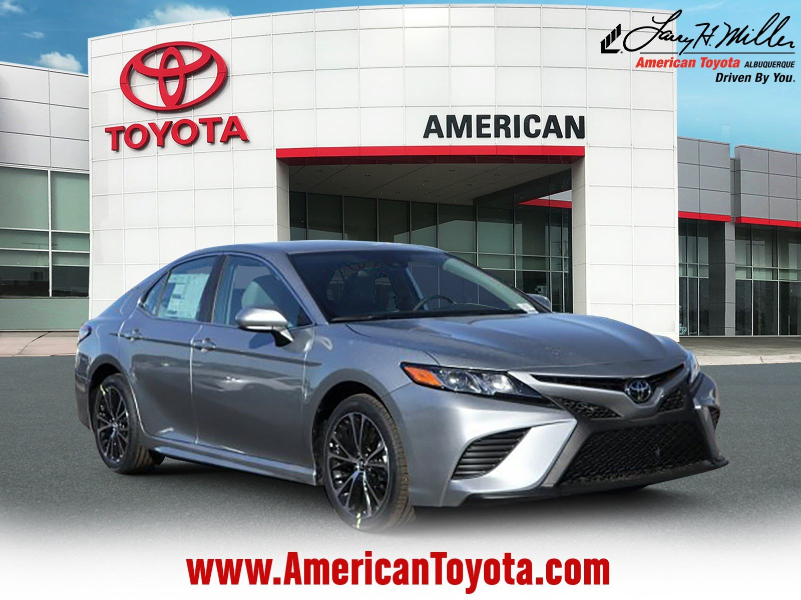 Featured 2019 Toyota Camry SE Sedan for sale near you in Albuquerque, NM