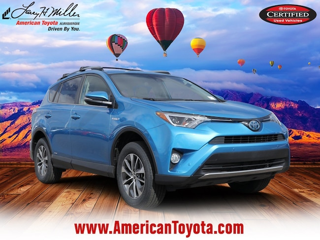 Used 2017 Toyota RAV4 Hybrid LE Plus SUV for sale in Albuquerque, NM