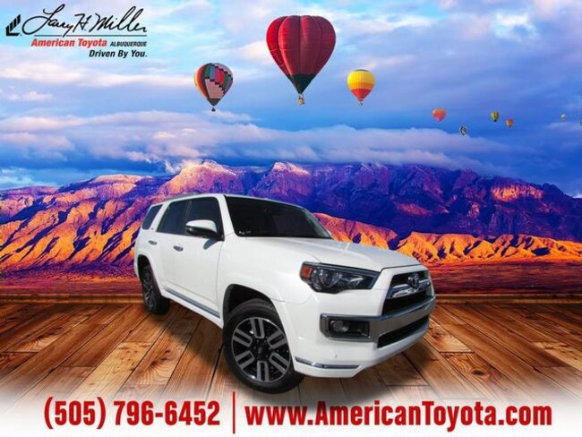 Certified pre-owned 2019 Toyota 4Runner Limited SUV for sale in Albuquerque, NM